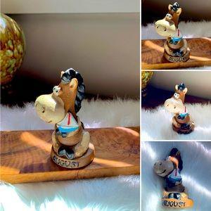 🦋2/$10 3/$15 4/$18 5/$20 Vintage August Figurine